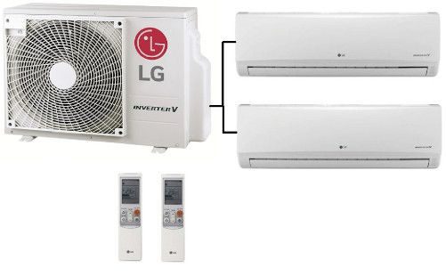 aire acondicionado lg 2x1